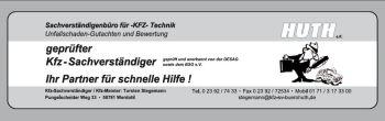 KFZ Sachverständigenbüro Huth